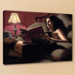$enCountryForm.capitalKeyWord Australia - High Quality Fabian Perez Princess Diaries Girl Portrait Handpainted & HD Print oil painting,Home Decor Wall Art On Canvas Multi Sizes p87