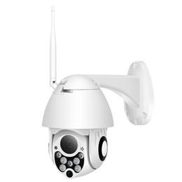 Wireless Dome Cctv Cameras UK - BESDER 4X Digital Zoom 1080P Wifi PTZ Speed Dome Camera Outdoor IP66 Waterproof Wireless Home Security Camera CCTV Surveillance