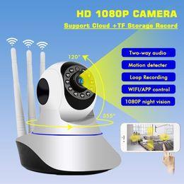 $enCountryForm.capitalKeyWord Australia - 2.0MP 1080P HD Wireless Surveillance Camera PTZ Wifi Home Security Smart IP Cam 64 TF Card Night Vision CCTV IP Cam Baby Monitor