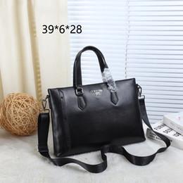 $enCountryForm.capitalKeyWord Australia - TS PA Logo Metal Bag Leather Hot Sale Womens Ladies Designer Luxury Handbags Purses Shoulder Bag 3 Style Briefcase Black TSYSBB198