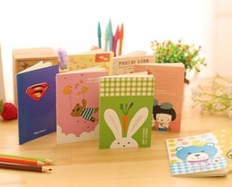 $enCountryForm.capitalKeyWord Australia - 2019 Fashion Special Cute Kawaii Notebook 4pcs lot Cartoon Animals Style Journal Diary Planner Notepad For Kids Student Gifts