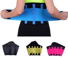 Aptidão Da Cintura das mulheres Cincher Cintura Trimmer Espartilho Ventilar Ajustável Tummy Trimmer Trainer Cinto De Perda De Peso Emagrecimento Cinto 20 pcs venda por atacado