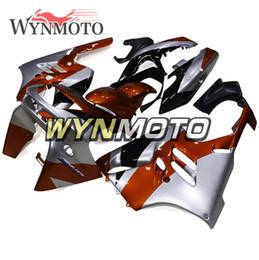 $enCountryForm.capitalKeyWord Australia - Silver Orange ABS Plastic NINJA ZX-9R 94-97 Cowls Full Fairings For Kawasaki ZX9R ZX-9R 1994 1995 1996 1997 Motorcycle Cowlings