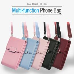 Handbag for ipHone mini online shopping - 2019 New universal mobile phone handbag leather bag mini shoulder bag for iphone simple wild fashion small woman bag trend