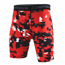 $enCountryForm.capitalKeyWord NZ - Men Tight Shorts Running Training Compression Mens Camouflage Quick-drying Pants Gym Jogging Fitness Workout Bermuda Plus Size S-XXXL