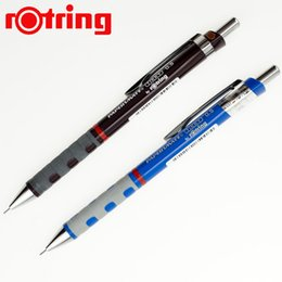 Wholesale rOtring mm Automatic Mechanical Pencils and leads refills Pencil sets for School Office supplies Artist sketching Geman