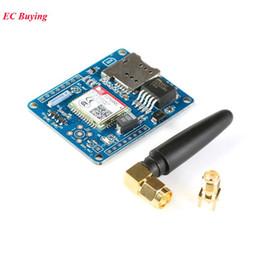 Development Modules Australia - Freeshipping 5PCS SIM800C Development Board Quad-Band GSM   GPRS Module Supports etooth  TTS  DTMF Alternative SIM900A Glue Stick Antenna