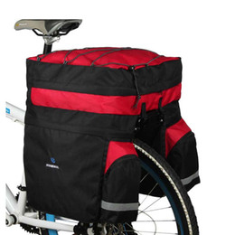 ReaR Rack bike bag online shopping - ROSWHEEL L Waterproof Bicycle Panniers with Rain Cover Bike Bags Double Side Rear Rack Tail Seat Trunk Bag Pannier