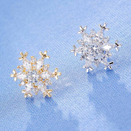 cheap celtic dress Canada - 2019 Hot Sale Cheap Crystal Flower Brooch Fancy Tone Bridesmaid Dress Snowflake Brooch Pins korean version 20pcs lot free shipping