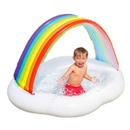 $enCountryForm.capitalKeyWord UK - New Style Rainbow Sun-shade Infant Swimming Pool Inflatable Indoor Arrester Bed Sea Ball Pool G2407
