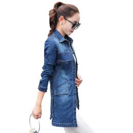 7a4d0343f Women s Autumn Korean Designer Fashion Jackets Long Sleeve Single Breasted Denim  Jacket Students Slim Jeans Coat QYX142