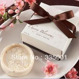 "$enCountryForm.capitalKeyWord NZ - "" Cherry Blossom"" Scented Soap wedding giveaways for guest 20 pcs lot 20170226#"
