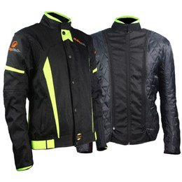 man raincoat motorcycle NZ - Riding Tribe Motorcycle Jacket Protective Gear Men Moto Motocross Jacket Winter Windproof Moto Cruiser Touring Clothing Raincoat