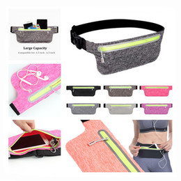 Discount max vision - Men Women Waist Belts Pouch Packs Phone Bags Sport Running Case Carrying Cover Night vision Universal Waterproof for all