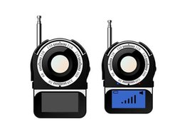 Bug Detector Finder Australia - New CC309 Full Band Signal Bug RF Camera Detector 1.6'' Screen Camera Laser Lens Finder Portable Wireless Detector Anti Monitor