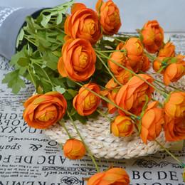 $enCountryForm.capitalKeyWord Australia - 5 Pcs Lot Simulation 8 heads Peony Silk Flowers Pastoral Peony Wreath for Home Decor Wedding Decoration Background Artificial Flowers wall