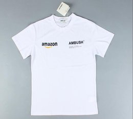 314532444dee Top-quality Ambush amazon joint t-shirt mens women 18ss star style loose  short-sleeved tee round neck Tops