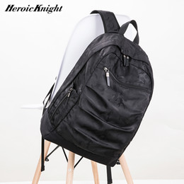 Camo baCkpaCks Camouflage online shopping - Heroic Knight USB Charging Laptop Backpack inch for Men Camo Black Fashion Masccline Bags Travel Backbags large Capacity Bag T191021
