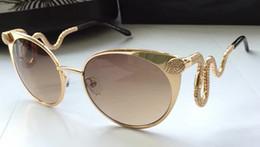 $enCountryForm.capitalKeyWord Australia - ROBERTO'S Women RC890 Rose Gold Brown Smoke Gradient Lens Sunglasses Cat Eye Eyewear Brand New with Box