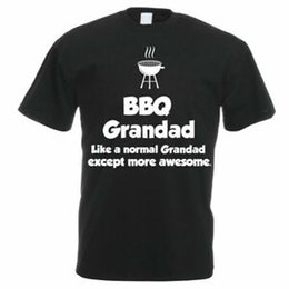 $enCountryForm.capitalKeyWord UK - Funny Cooking   Chef T-Shirt - BBQ GRANDAD - Dad's Funny Gift   Father's Day