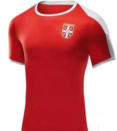 0a7e4f4ad 2018 World Cup Serbia Soccer Jersey Serbia IVANOVIC 6 MITROVIC 9 TADIC 10  KOLAROV 11 KOSTIC 17 MATIC 21 Football Shirt uniforms
