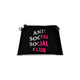 $enCountryForm.capitalKeyWord UK - 2018 Anti Socal Strap Lady Day Clutch Bag Women Handbags Fashion Envelope Messenger Bag Party Evening Shoulder Bags Black Purse