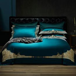 $enCountryForm.capitalKeyWord Australia - New 1000TC Egyptian Cotton Royal Luxury Bedding set King Queen Size Embroidery Bed set Duvet Cover Bedsheet parrure de lit