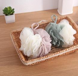 $enCountryForm.capitalKeyWord Australia - 10PCS Fashion Bath Ball Bathsite Bath Tubs Cool Ball Bath Towel Scrubber Body Cleaning Mesh Shower Wash Sponge Product 11cm HK0493