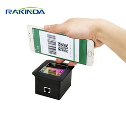 rs232 usb module Australia - NEW Arrival RAKINDA RD4500R USB RS232 2D Fixed Mount QR Barcode Scanner Module For Kiosk or Turnstile Mobile Payment