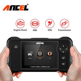 engine gearbox Australia - Ancel FX2000 OBD2 Automotive Scanner Car Diagnostic Tool Engine ABS SRS Gearbox 8 Language odb2 Auto