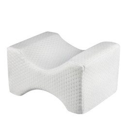 Legs piLLow online shopping - Orthopedic Knee Pillow for Sciatica Relief Back Pain Leg Pain Pregnancy Hip and Joint Pain Memory Foam Wedge Contour Sleeping Pillow