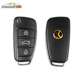 Audi Key Types Australia - 5pcs Lot XHORSE Universal Remote Key 3 Buttons VVDI Key - DS For Audi A6L Q7 Type Use with VVDI2 VVDI Mini Remote Programmer