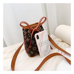 Vente en gros Promotion lettre nouvellement arrivés Dessinez enfants petit sac à dos PU cuir dame sac sacs de voyage dame brune grise
