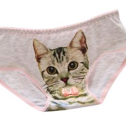 cd26ceca6214 Underwear Women Ladies' Individual Cat 3D Cotton Panties Women Panties  Cotton 2019 New Underwears Womens