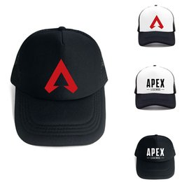 $enCountryForm.capitalKeyWord Australia - Apex Legends 3D Print Trucker Cap Game Fans Cool Caps Summer Baseball Net Outdoor Casual Sports Caps Hat TC190301W 100PCS