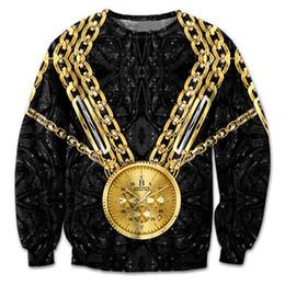 $enCountryForm.capitalKeyWord Australia - New Fashion Sweatshirt Men 3D Print Gold Chains Gold Watch Hoodie Autumn Winter Long Sleeve Crewneck Streetwear Sudaderas Hombre