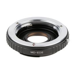 Großhandel MD-EOS-Mount-Adapter-Ring für Minolta MD Objektiv Canon EOS-Kamera 700D 650D Schwarz + Silber