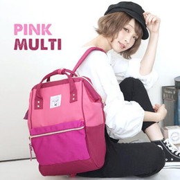 korean style girls top 2018 - 2019 Luxury brand 36 color Classic Travelling Bag Casual School Bags For Students Japanese Style High Capacity Handbags