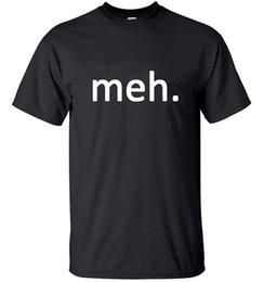 Meh Internet Nerd Geek Lustig Herren Lockerer Sitz Baumwolle T-Shirt