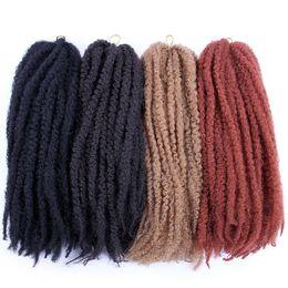 kinky braids marley 2019 - Kanekalon Marley Braids Synthetic Braiding Hair Bulk Afro Kinky Twist 18inch 100g Kanekalon Crochet Braids Synthetic Hai