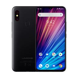 "Venta al por mayor de UMIDIGI F1 Play Android 9.0 Supercámaras 48MP 5150mAh 6GB RAM 64GB ROM 6.3 ""FHD + Helio P60 Versión global Smartphone Doble 4G 48MP + 8MP + 16MP C"