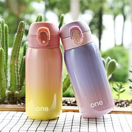 $enCountryForm.capitalKeyWord Australia - 320MLThermos Bottle Vacuum Cup 304 Stainless Steel Belly cup Colorful Bottles Water Tumbler For Car Coffee Mug