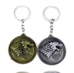 $enCountryForm.capitalKeyWord Australia - Game Of Throne keychain Bulk Lots Song of Ice And Fire Keychains Home Decor Accessories Party Supplies 120pcs