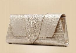 $enCountryForm.capitalKeyWord Australia - Designer Women brand Clutch Bags France Luxury Banquet bag Three-dimensional Alligator head Genuine Leather Shoulder Bags Cross Body Cowhide