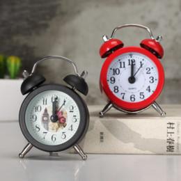 $enCountryForm.capitalKeyWord Australia - Yooap Small Metal Kids Alarm Clock Indoor Desk Bedside Cabinet Standing Mini Alarm Clocks Home Decoration Cute Clock