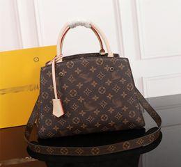 $enCountryForm.capitalKeyWord Australia - Designer Bags MONTAIGNE Tote Women Luxury Leather Shoulder Bags purse Floral Print Handbags Crossbody shopper Bag Business Laptop 060701