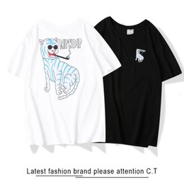 Wholesale sleeveless t shirts online – design Designer t shirts for men shirt shirts for men favourite recommend fashion summer classic elegant Party handsome IYFX