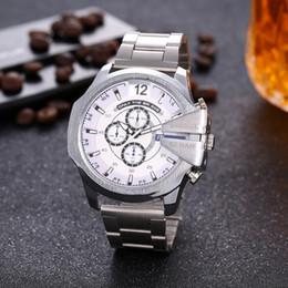 $enCountryForm.capitalKeyWord Australia - 2019 Christmas gift Sports Mens Watches Fashion Dial Display Watch Quartz Watch Leather Band DZ Fashion Wristwatches For Men diesels watches