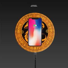 $enCountryForm.capitalKeyWord Australia - With Bluetooth Speaker QI 10W Fast Wireless Charger Dragon Ball Circle Magic Array Wireless Charger Pad Charging Cradle For Mi9