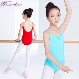 Wholesale costumes for gymnastics for sale - Group buy Camisole Ballet Costumes Cotton Gymnastics Ballet Leotard Dance Leotard Dance Wear Ballerina Clothes for Girls